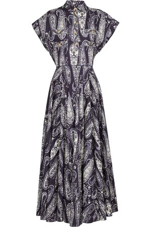 Giambattista Valli Damen Bedruckte Kleider - Bedrucktes Maxikleid aus Baumwolle