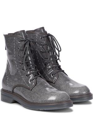 Max Mara Damen Stiefeletten - Ankle Boots Beth aus Wolle