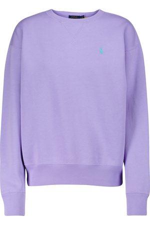 Polo Ralph Lauren Damen Lange Ärmel - Sweatshirt aus Baumwoll-Jersey