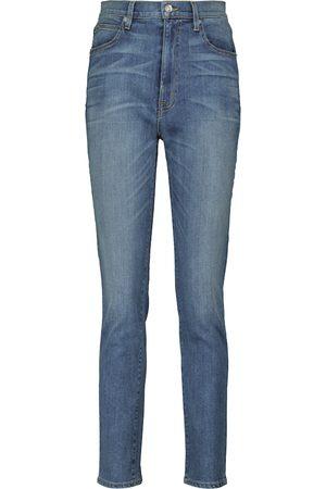 SLVRLAKE Damen Slim - High-Rise Slim Jeans Beatnik