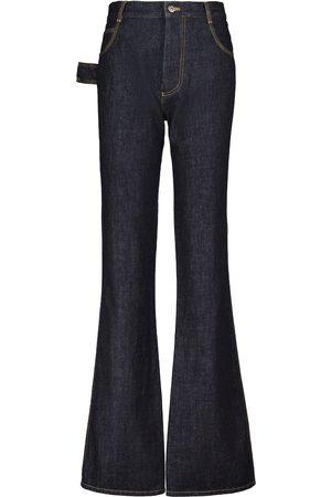 Bottega Veneta High-Rise-Flared-Jeans