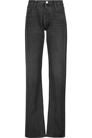 The Attico High-Rise Baggy Jeans