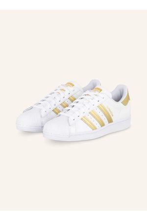 adidas Originals Damen Sneakers - Sneaker Superstar weiss
