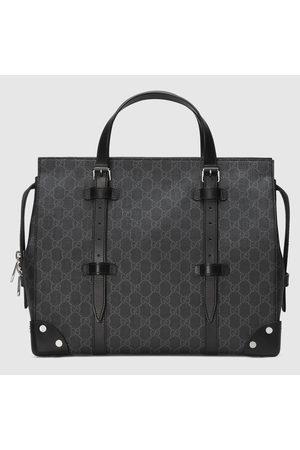 Gucci GG Shopper mit Lederdetails