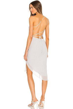 Michael Costello X REVOLE Alice Midi Dress in - . Size L (also in XXS, XS, S, M, XL).