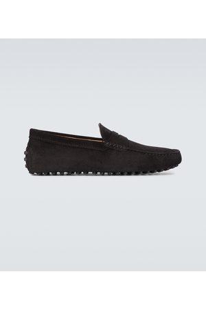 Tod's Loafers Gommino aus Veloursleder