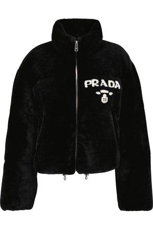 Prada Jacke aus Faux Fur