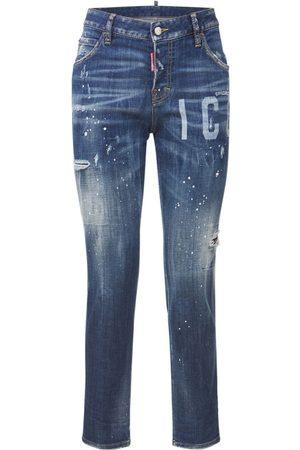 "Dsquared2 Jeans Aus Baumwolldenim ""symbol Cool Girl Jean"""
