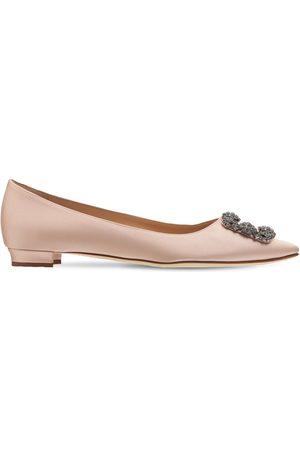 Manolo Blahnik Damen Schuhe - 10mm Hohe Schuhe Aus Seidensatin