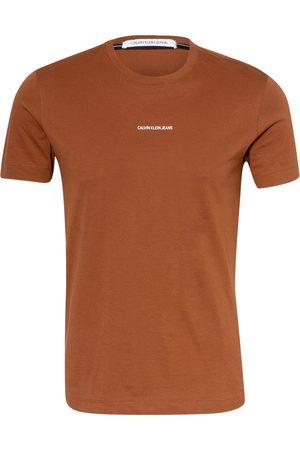 Calvin Klein Jeans Herren Shirts - T-Shirt rot