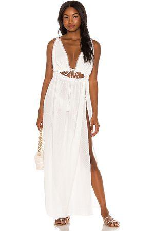 Tularosa Fia Maxi Dress in - White. Size L (also in XXS, XS, S, M, XL).