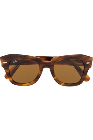 Ray-Ban State Street rectangle frame sunglasses