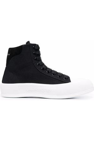 Alexander McQueen Herren Schnürschuhe - Chunky-sole lace-up sneakers