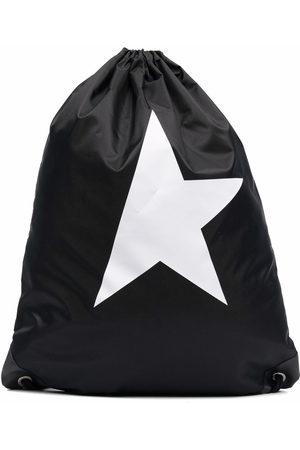Golden Goose Star Collection drawstring backpack
