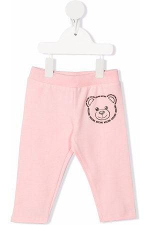Moschino Teddy bear print tracksuit bottoms