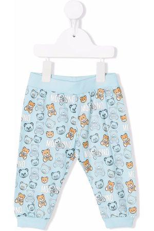 Moschino Slips & Panties - Teddy bear print tracksuit bottoms