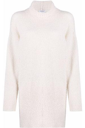 Dondup Curved-hem knitted jumper
