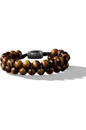 David Yurman Herren Armbänder - 8mm Spiritual Beads two-row tiger eye bracelet