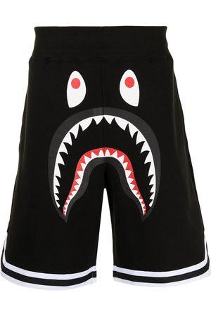 A Bathing Ape Shark Basketball Sweat shorts