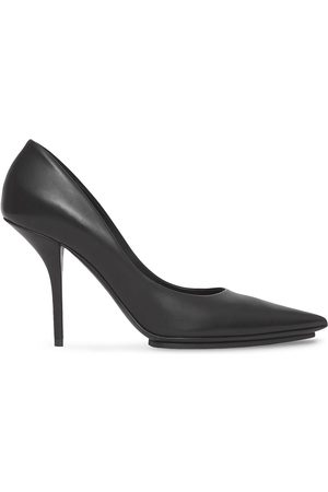 Burberry Eyelet-detail pointed toe pumps