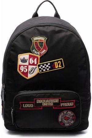 Dsquared2 Embroidered-logo patch backpack