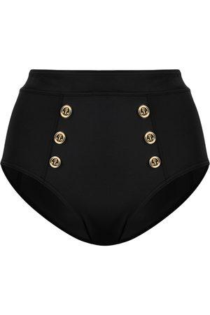 Marlies Dekkers Damen Slips - Button-detail high-waisted briefs