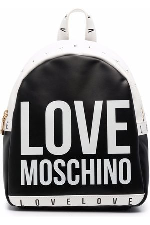 Love Moschino All-over logo print backpack