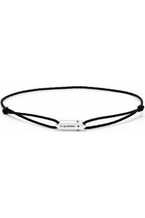 Le Gramme Armbänder - Logo capsule cord bracelet
