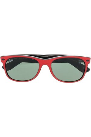 Ray-Ban Logo-plaque wayfarer sunglasses