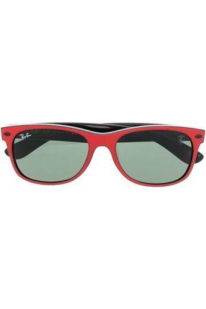 Ray-Ban Sonnenbrillen - Logo-plaque wayfarer sunglasses