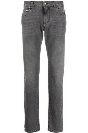 Dolce & Gabbana Herren Straight - Mid-rise straight leg jeans