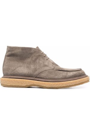 Officine creative Bullet suede-leather desert boots