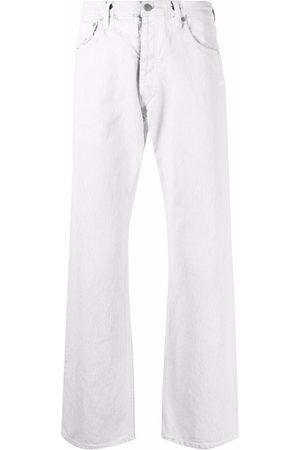 Maison Margiela Mid-rise straight jeans