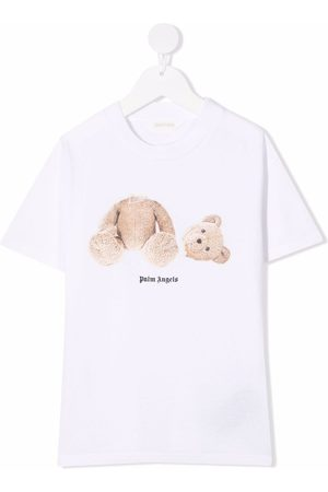 Palm Angels PALM ANGELS BEAR TEE S/S BROWN