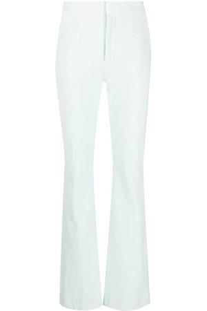 Alexander Wang Flared velvet trousers
