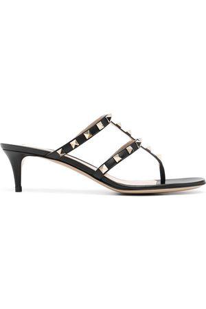 VALENTINO GARAVANI Damen Sandalen - Rockstud T-bar 50mm sandals