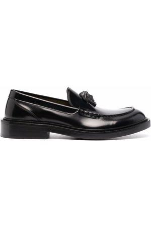 VERSACE La Medusa leather loafers