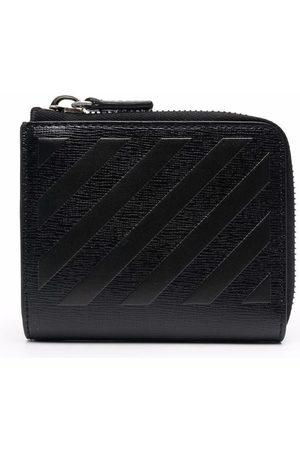 Off-White Herren Geldbörsen & Etuis - 3D diagonal zip wallet