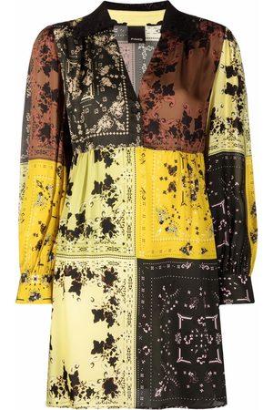 Pinko Damen Freizeitkleider - Floral paisley-print minidress