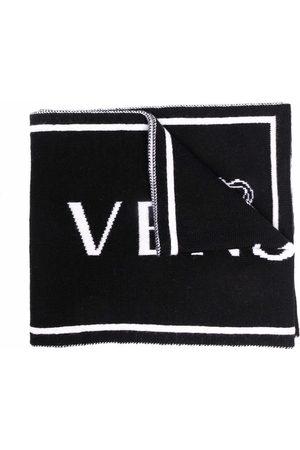 VERSACE Jungen Schals - Medusa intarsia-knit scarf