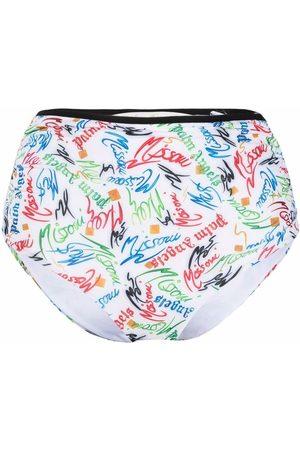Palm Angels Damen Slips & Panties - X Missoni Scribble-logo bikini bottoms