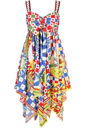 Dolce & Gabbana Carretto-print twill dress