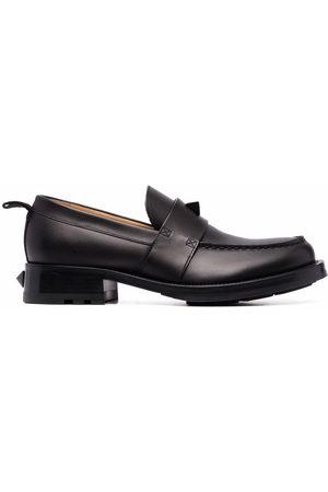 VALENTINO GARAVANI Roman Stud leather loafers
