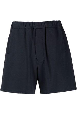 MACKINTOSH Herren Kurze Hosen - Logo patch sweat shorts
