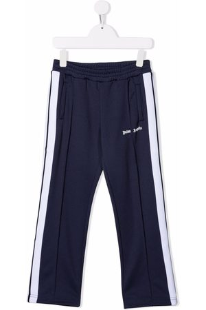 Palm Angels CLASSIC LOGO TRACK PANT NAVY WHITE