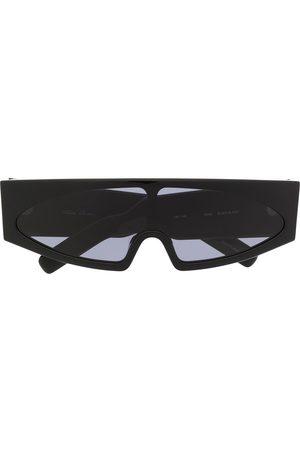 Rick Owens Sonnenbrillen - Angular visor sunglasses