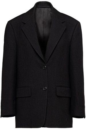 Prada Damen Blazer & Sakkos - Single-breasted pinstripe blazer