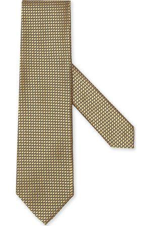 Ermenegildo Zegna Herren Krawatten - Silk patterned-jacquard tie