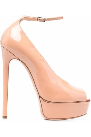 Casadei Flora Roxanne peep-toe pumps