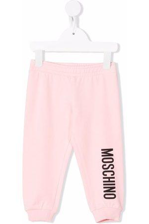 Moschino Logo-print sweatpants